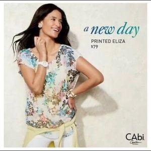 Cabi Eliza Blouse #872 Medium